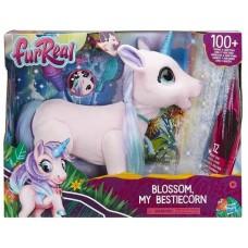 Интерактивная мягкая игрушка FurReal Friends Волшебный единорог Blossom