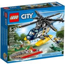 Конструктор LEGO City 60067 Погоня на полицейском вертолете