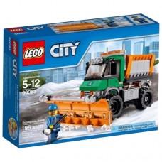 Классический конструктор LEGO City 60083 Снегоуборочный грузовик