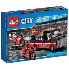Классический конструктор LEGO City 60084 Перевозчик гоночных мотоциклов