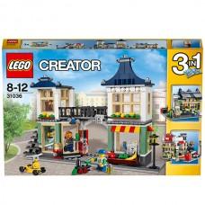 Конструктор LEGO Creator 31036 Магазин по продаже игрушек и продуктов