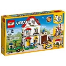 Классический конструктор LEGO Creator 31069 Модульная семейная вилла
