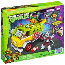 Конструктор Mega Bloks Teenage Mutant Ninja Turtles DMX54 Фургон для вечеринки