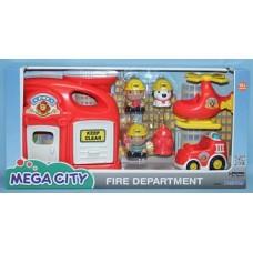 Игровой набор Keenway, Пожарная станция, 32804